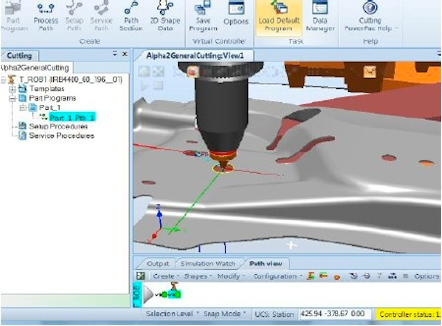 Robotic laser cutting software | Industrial Laser Solutions