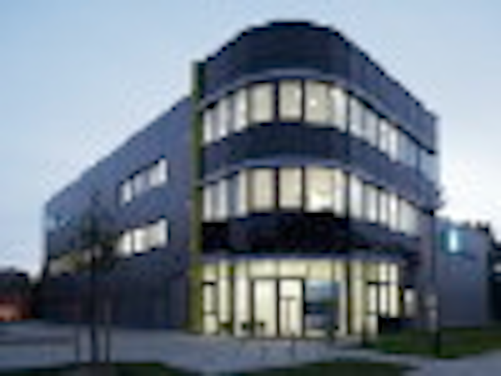 Jenoptik's diode lab building in Berlin. (Source: Jenoptik)