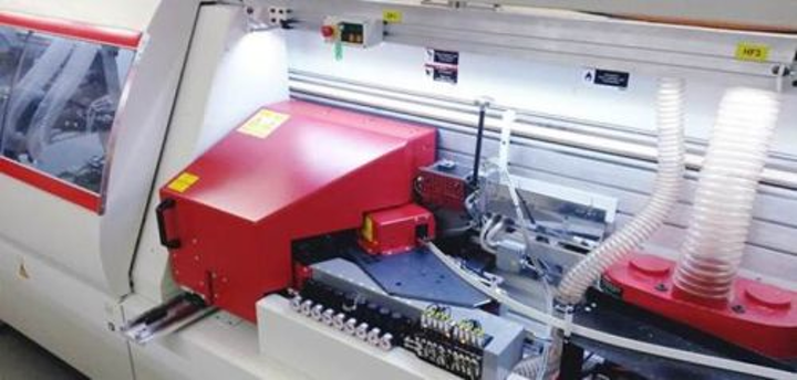 VCSEL-based laser system for large-area wood surface