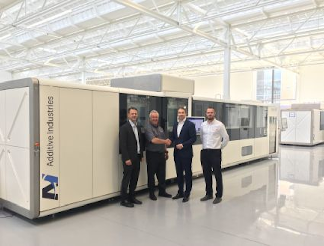 Additive Industries names Laser Lines as sales agent for the