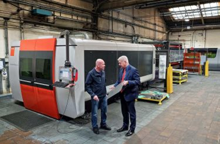 Laser cutting and bending software optimizes production at