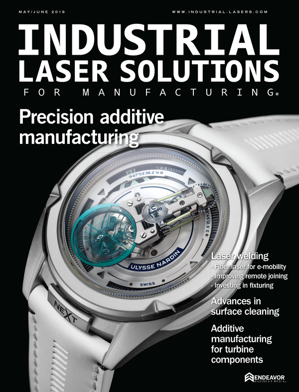 Industrial Laser Solutions Volume 34, Issue 3