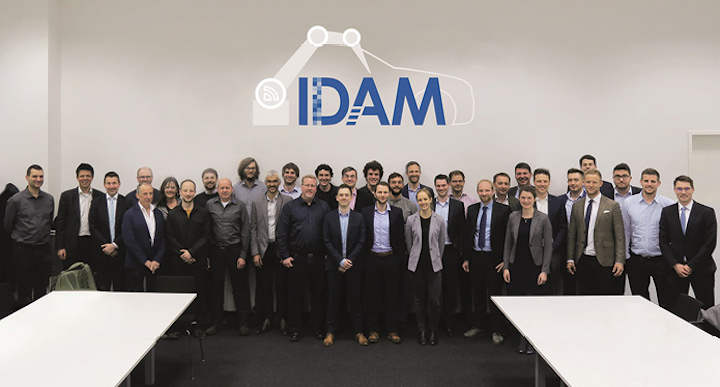 FIGURE 1. Consortium of the BMBF project IDAM at the kickoff in Munich on March 27, 2019.