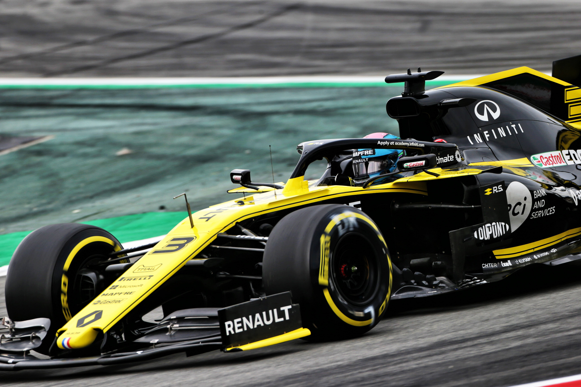 The additive manufacturing agreement will speed the development and delivery of 3D-printed racecar parts for the Renault R.S.19 racecar.