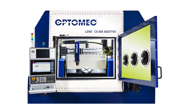 Optomec's LENS CS 800 System is one of the additive manufacturing machines that will be distributed by Select Additive Technologies.