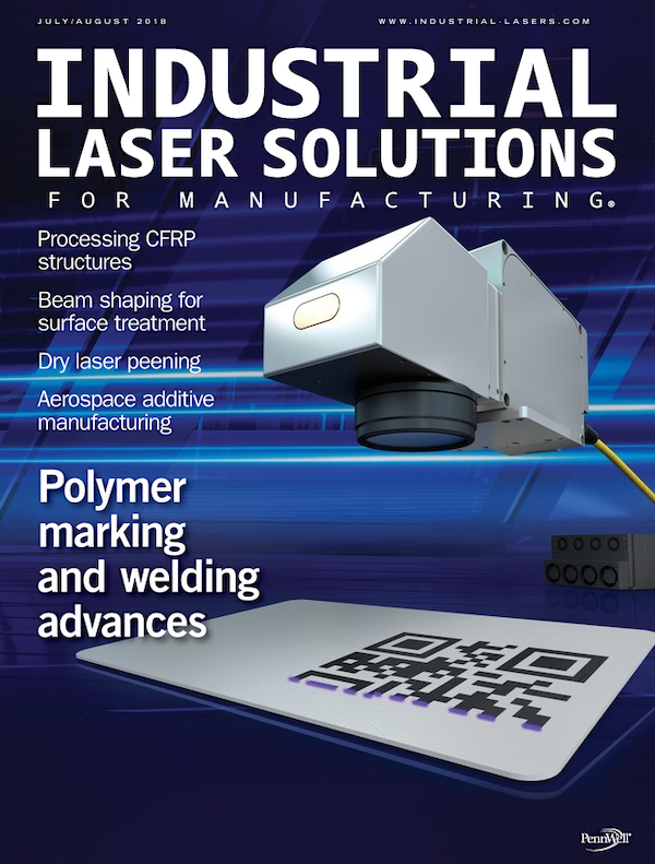 Industrial Laser Solutions Volume 33, Issue 4