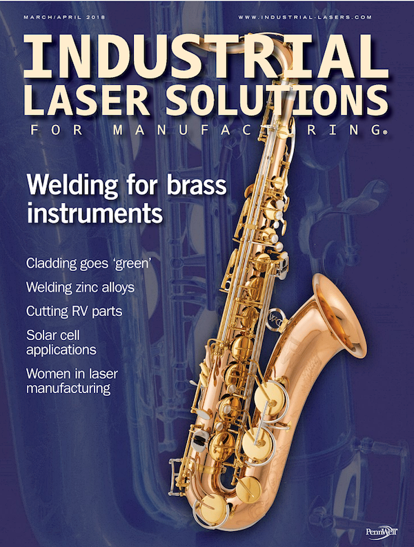 Industrial Laser Solutions Volume 33, Issue 2