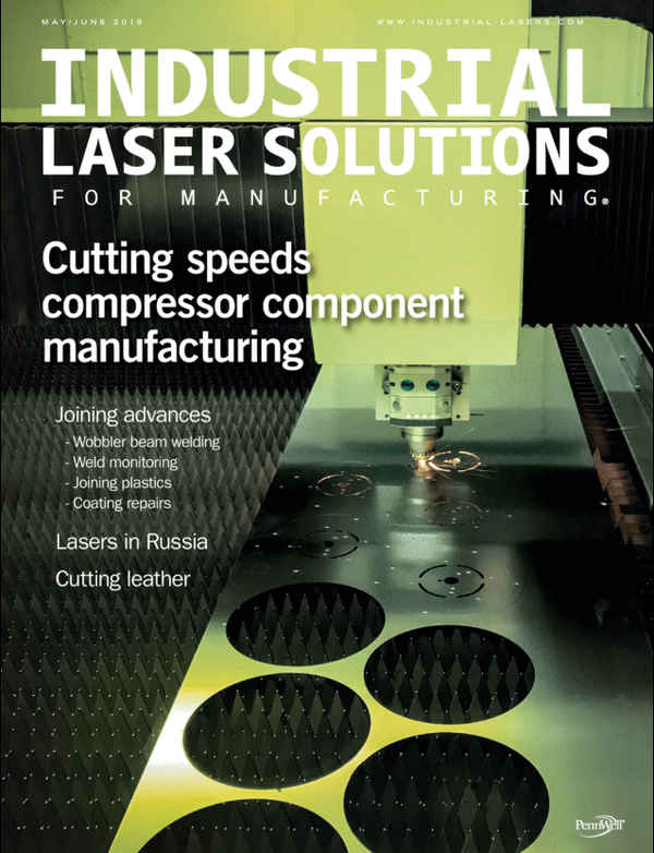 Industrial Laser Solutions Volume 33, Issue 3