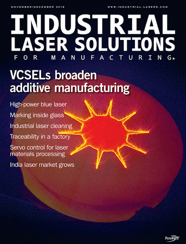 Industrial Laser Solutions Volume 33, Issue 6