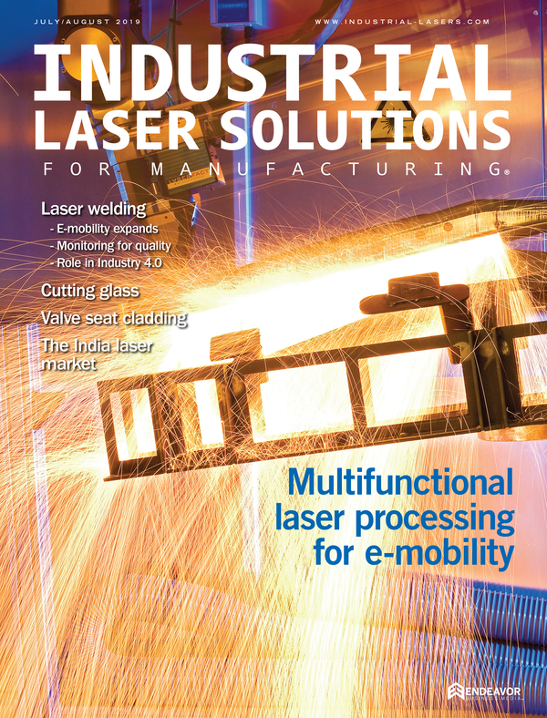 Industrial Laser Solutions Volume 34, Issue 4
