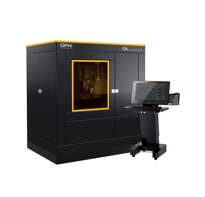 The GL.compact II laser micromachining system from GFH