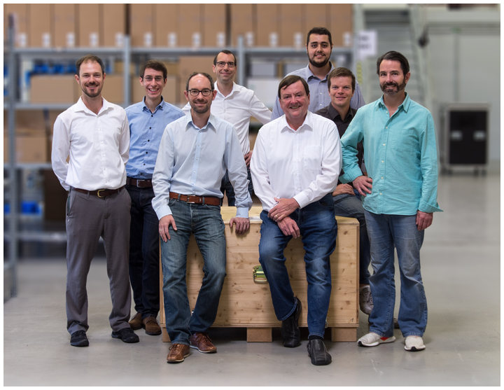 The Nanoscribe team is ready for the start of its U.S. subsidiary.