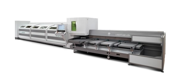 BLM Group USA's LT5 Lasertube laser cutting machine is now available with a choice of 2 kW and 1 kW lasers.