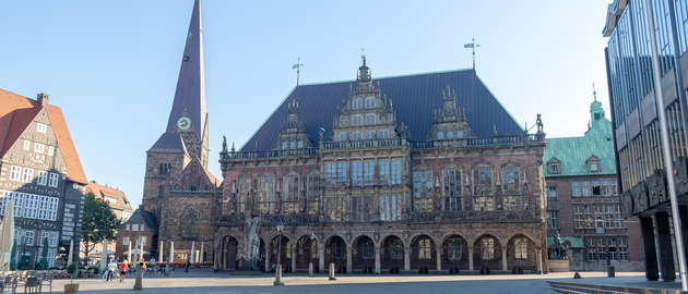 Bremen, Germany's Town Hall.