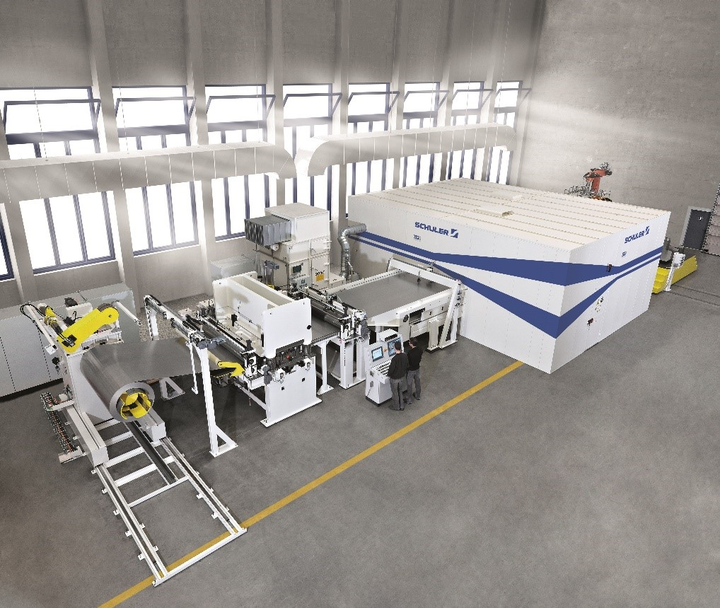 Decomecc has been producing shaped blanks on a Schuler laser blanking line since the beginning of 2019.