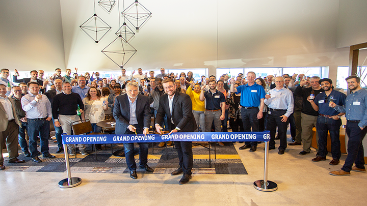 GKN Powder Metallurgy celebrated the opening of its North American facility with an internal celebration on April 8, 2019.