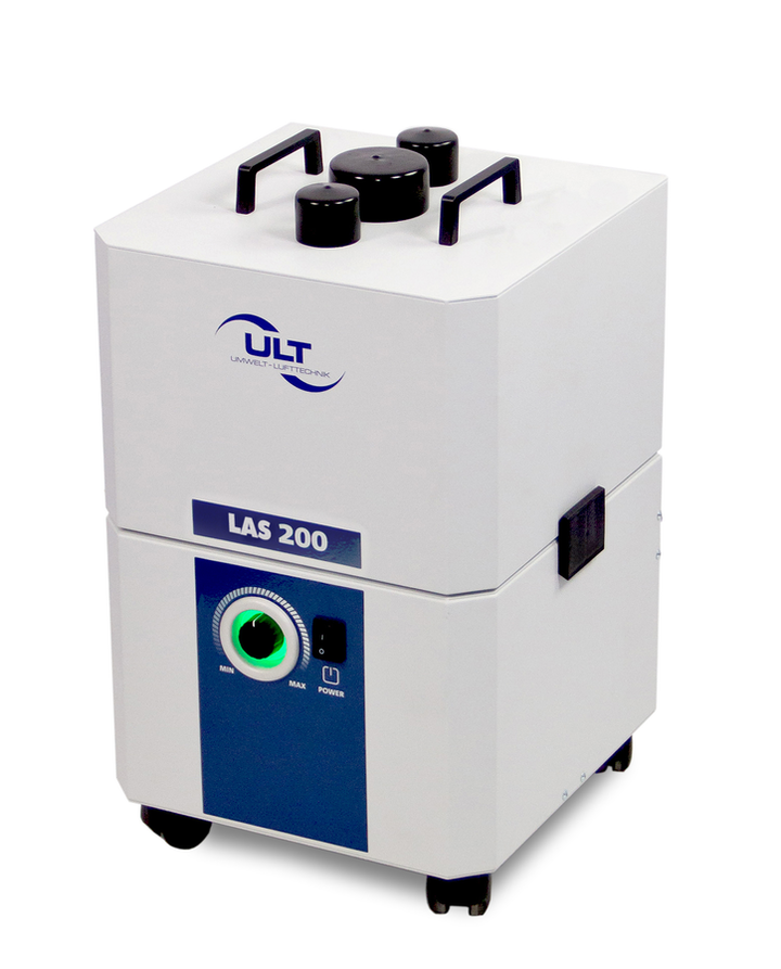 The LAS 200.1 laser fume extraction system from ULT