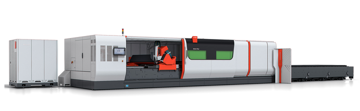 Bystronic intros extra-large format fiber laser cutting