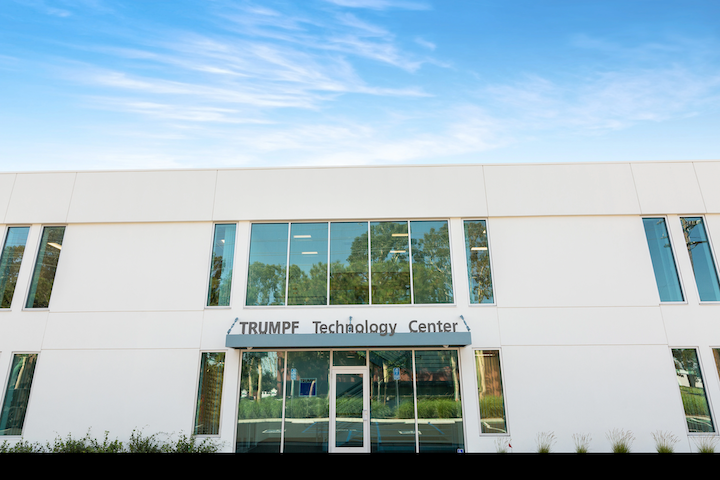 TRUMPF's new Technology Center is located in Costa Mesa, CA.