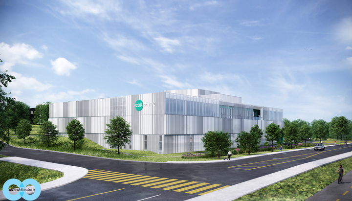 Construction of CorActive's new plant will start in summer 2021 in l'Espace d'innovation Michelet, in Québec City.
